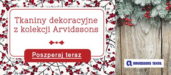 Tkaniny dekoracyjne Arvidssons – dla miłośników stylu skandynawskiego