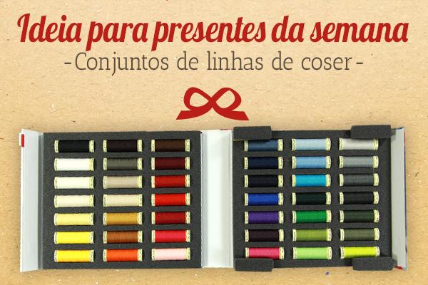 O presente perfeito para as costureiras amadoras: Conjuntos de linhas de coser