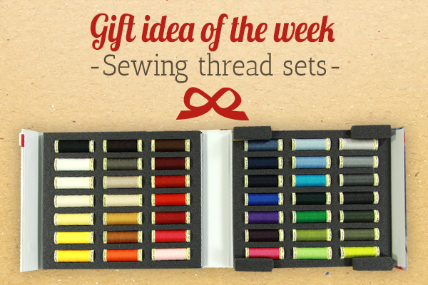The perfect present for amateur tailors: sewing thread sets