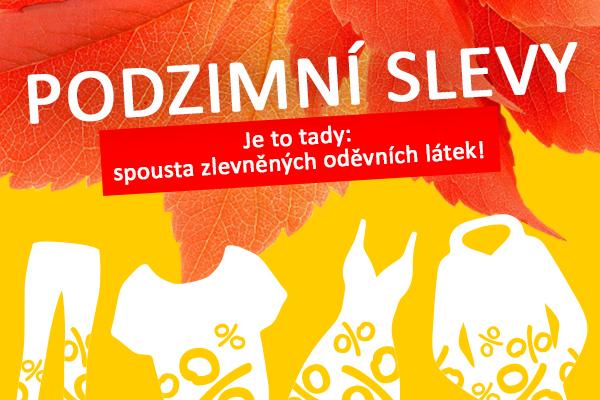 Aktuálně na latka.cz: Podzimní slevy plné úžasných nabídek