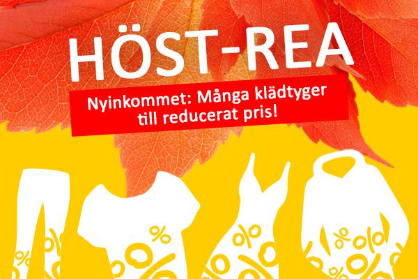 Aktuellt på tyg.se: höst-rea med storslagna erbjudanden