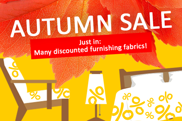 New furnishing fabrics at bargain prices – now at myfabrics.co.uk