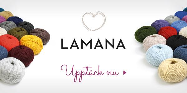 I ullsortimentet på tyg.se: Lamana märkesgarn
