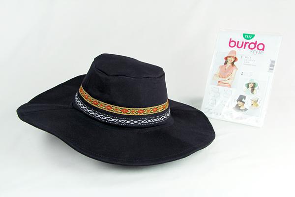 Schnittmuster des Monats: Hüte, Burda 7117