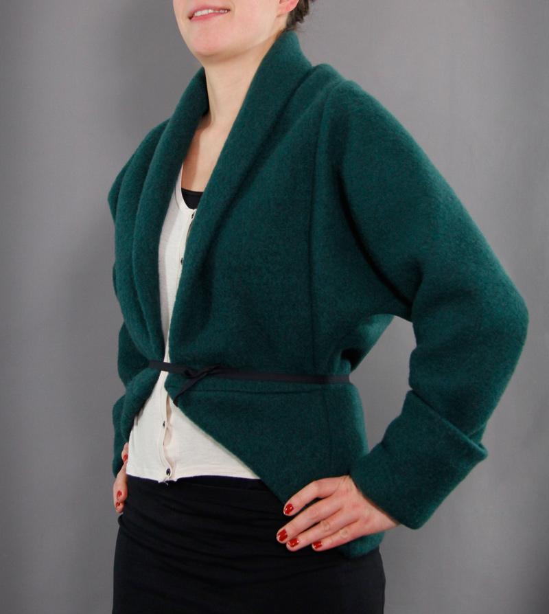 Schnittmuster des Monats: Jacke Louise von schnittchen