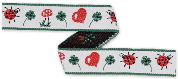 Vävband Ladybeetle