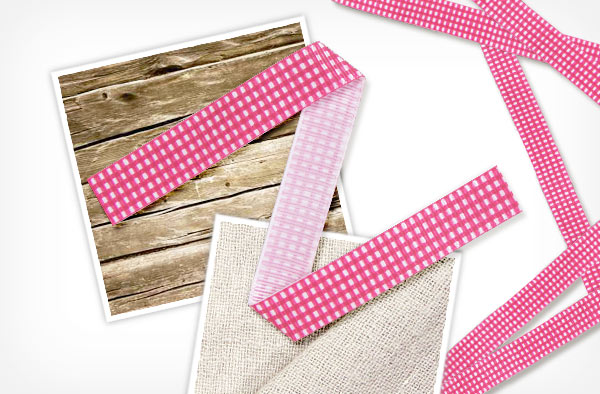 Grosgrain Ribbon Check 6