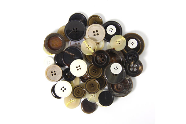 Assorted Buttons – BROWN|BEIGE