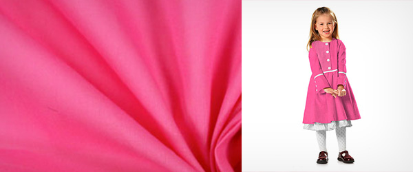 Cotton Voile Fuchsia