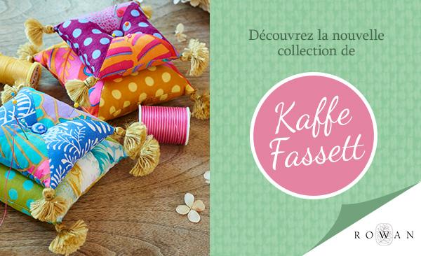 Disponible dès maintenant : Nouvelles collections de Kaffe Fassett