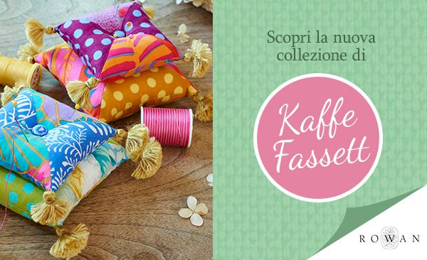 Disponibile fin da subito: la nuova collezione di Kaffe Fassett
