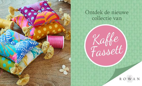 Per direct beschikbaar: Nieuwe collectie van Kaffe Fassett