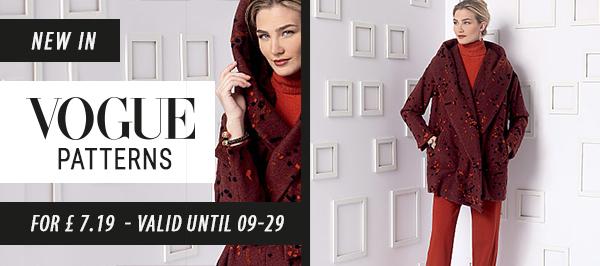 New in: Vogue patterns für £ 7.19