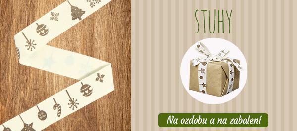 Tkané stuhy na latka.cz - objevte nyní vánoční motivy