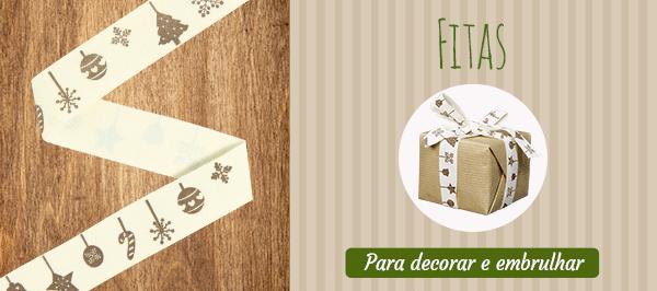 Fitas de tecido na tecidos.com.pt - Descubra agora os desenhos de Natal