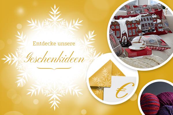 Für eine stressfreie Vorweihnachtszeit - schon jetzt an Geschenke denken!e