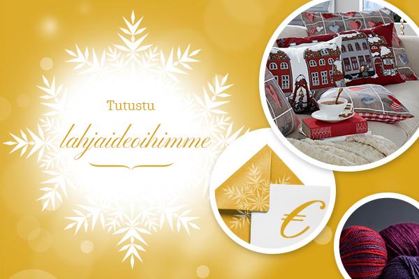 Joulu 2015 tulee olemaan mahtava - kerää jo nyt ideoita lahjoihin!