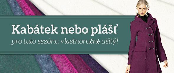 Kabátky a pláště - vhodné látky na latka.cz