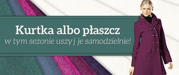 Kurtki i płaszcze – pasujące tkaniny w tkaniny.net