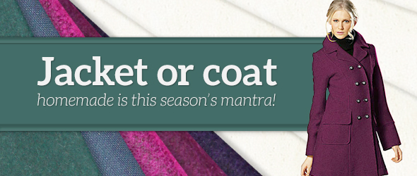 Jackets and coats – just the right fabrics at myfabrics.co.uk!