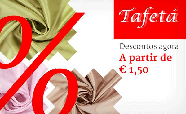 Agarre agora mesmo a sua cor favorita - Tafetá a preços reduzidos na tecidos.com.pt