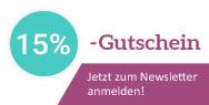 Newsletter abonnieren und 5€-Gutschein erhalten