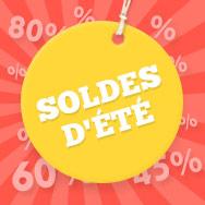 Réduits pour vous : tissus vestimentaires et de décoration dans les grandes soldes d'été