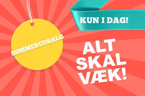 Kun i dag: Sommerudsalg hos stofkiosken.dk