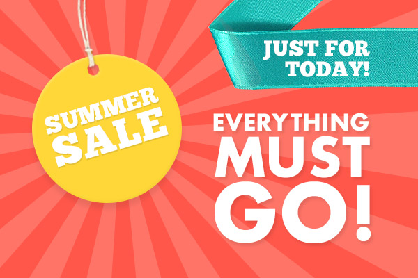 Just for today: Summer Sale at myfabrics.co.uk