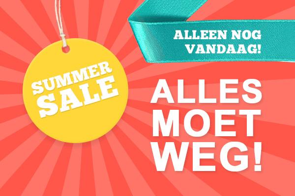 Alleen nog vandaag: Summer Sale bij stoffen.net