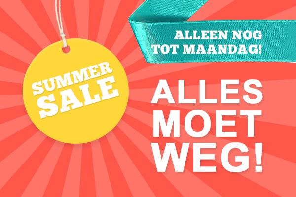 Laatste kans: Grote Summer Sale bij stoffen.net