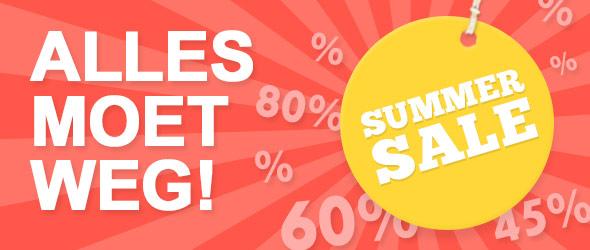 Voor u in prijs verlaagd: bekledings- en decostoffen in de grote Summer Sale
