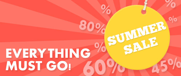 Discounted just for you: Apparel and furnishing fabrics in the grand Summer Sale