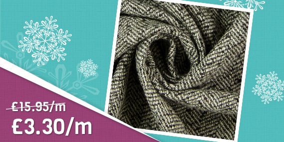Great bargains! Many winter fabrics at discounted prices!