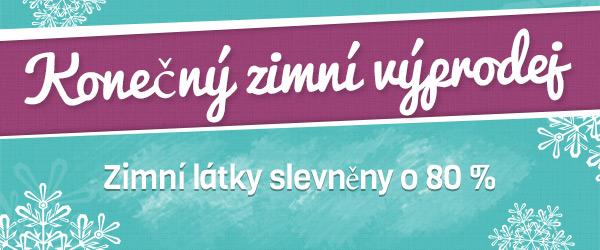 Od dnešního dne: velký zimní výprodej u latka.cz