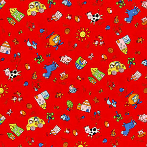 New arrival of playful children's fabrics