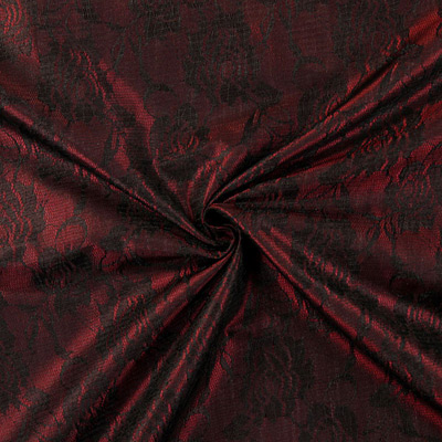 Tafetta and lace: new extravagant fabrics have arrived