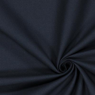 Nero ca 0,8/cm Tessuto in cotone con puntini 135/cm