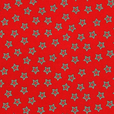 Baumwollstoff Weihnachten Sterne 1