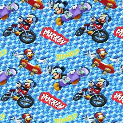 Katoenjersey Micky Mouse