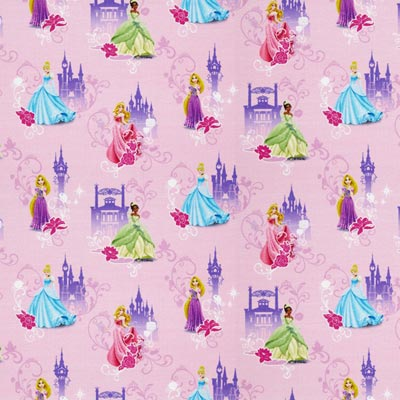 Disney Princesses Cotton Jersey