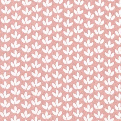 Popeline bloemen 1 – oudroze
