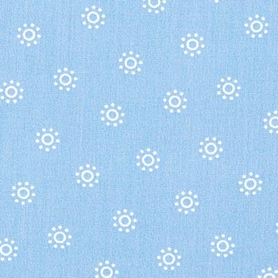 Popeline zon 3 – lichtblauw