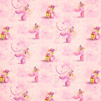 Singlejersey Diddlina ballerina – roze