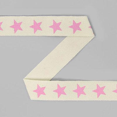 Katoenen band sterren 7
