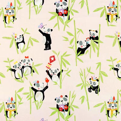 Half Panama Panda – pink