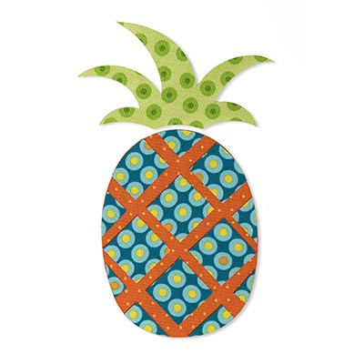 Pineapple Puzzle Patch | Prym
