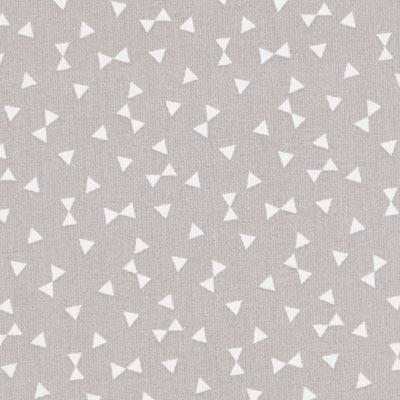 Cretonne Driehoeken Yozid 1 – grijs