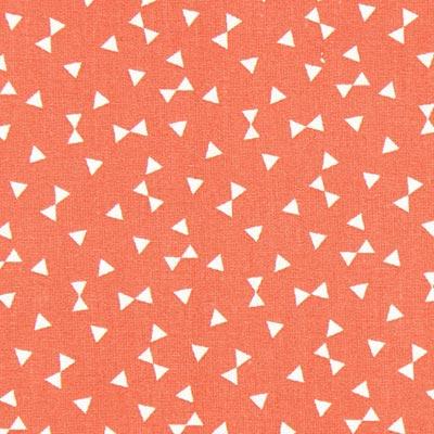 Cretonne Driehoeken Yozid 2 – rood