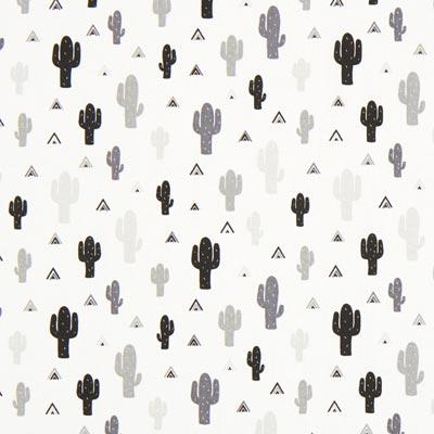 Cretonne Cactussen Mini-tipi – wit